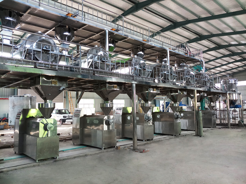 best cottonseed oil mill machinery with cheap price and full