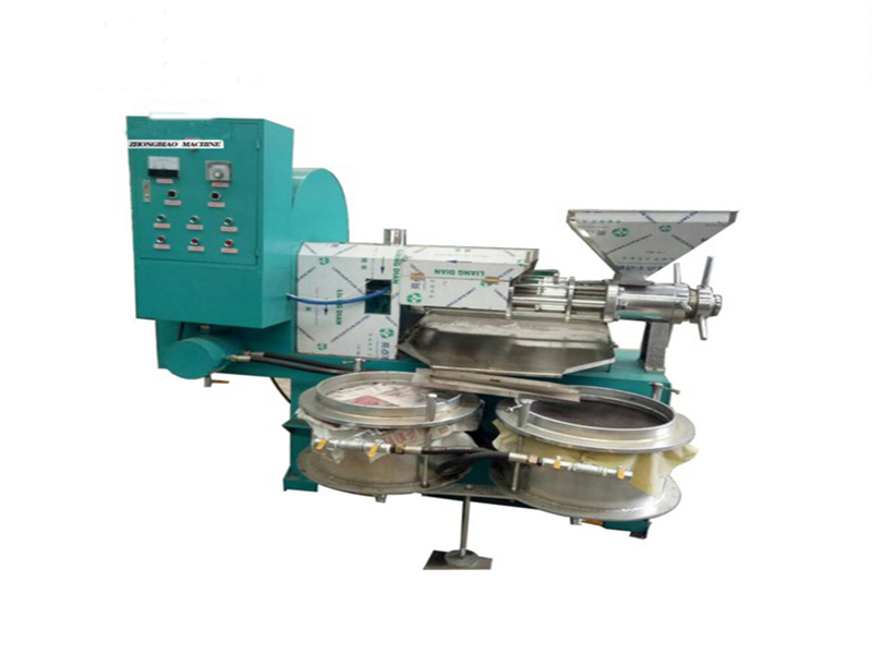 integrated sunflower oil press machine with filter