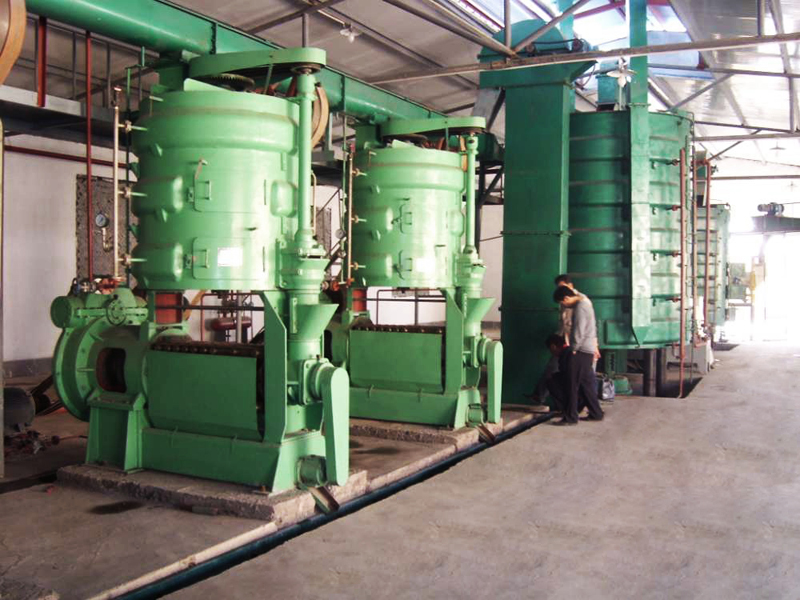small palm oil mill plant